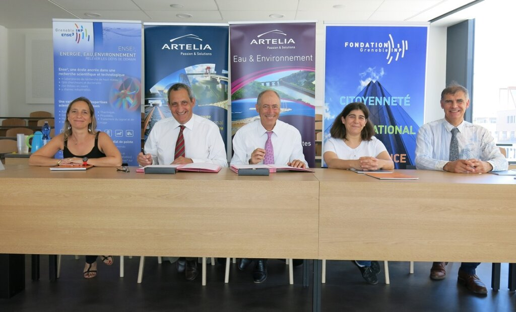 2018 07 04 Signature convention mecenat Artelia