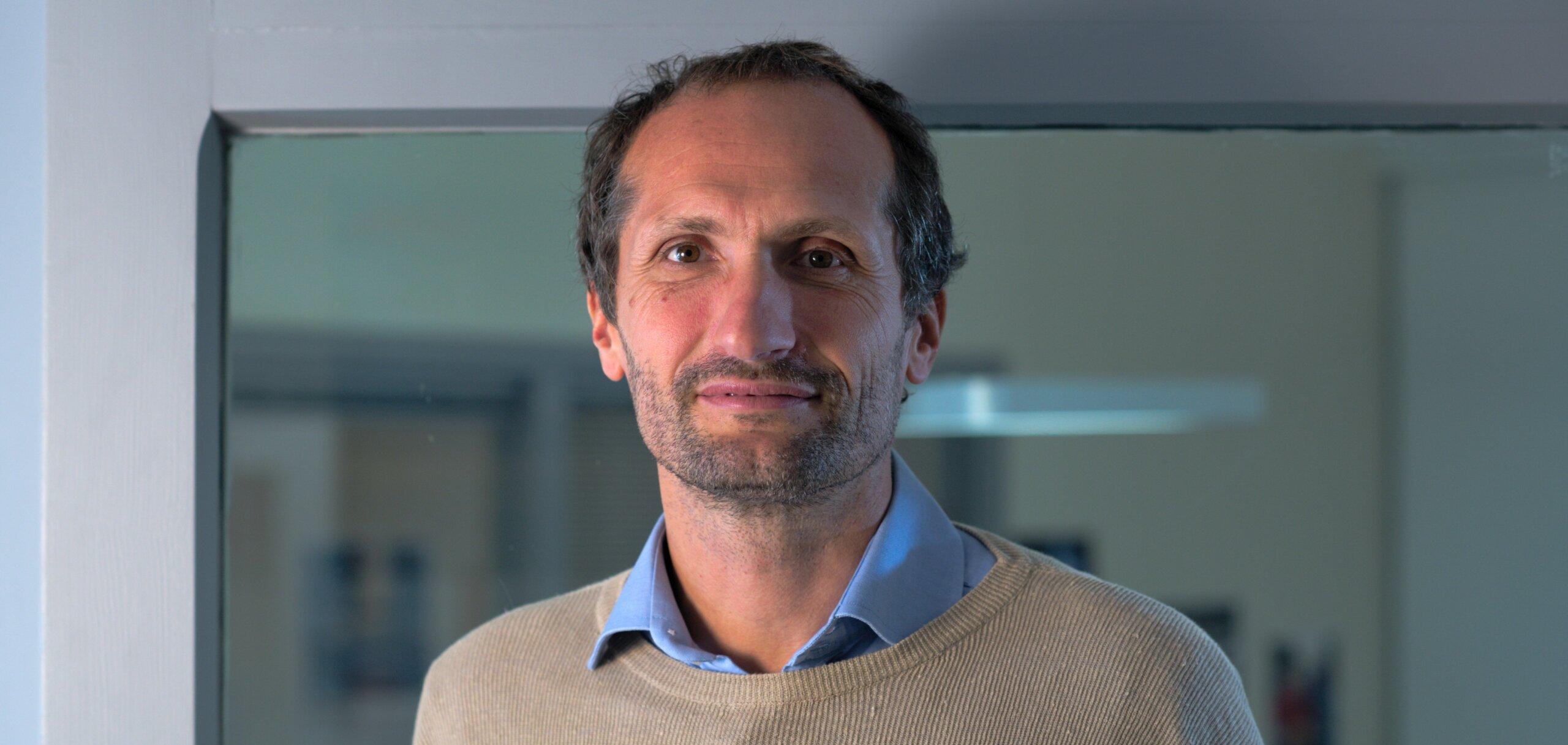 Pierre-Emmanuel Frot pilote le projet de l'Ecole de Transition