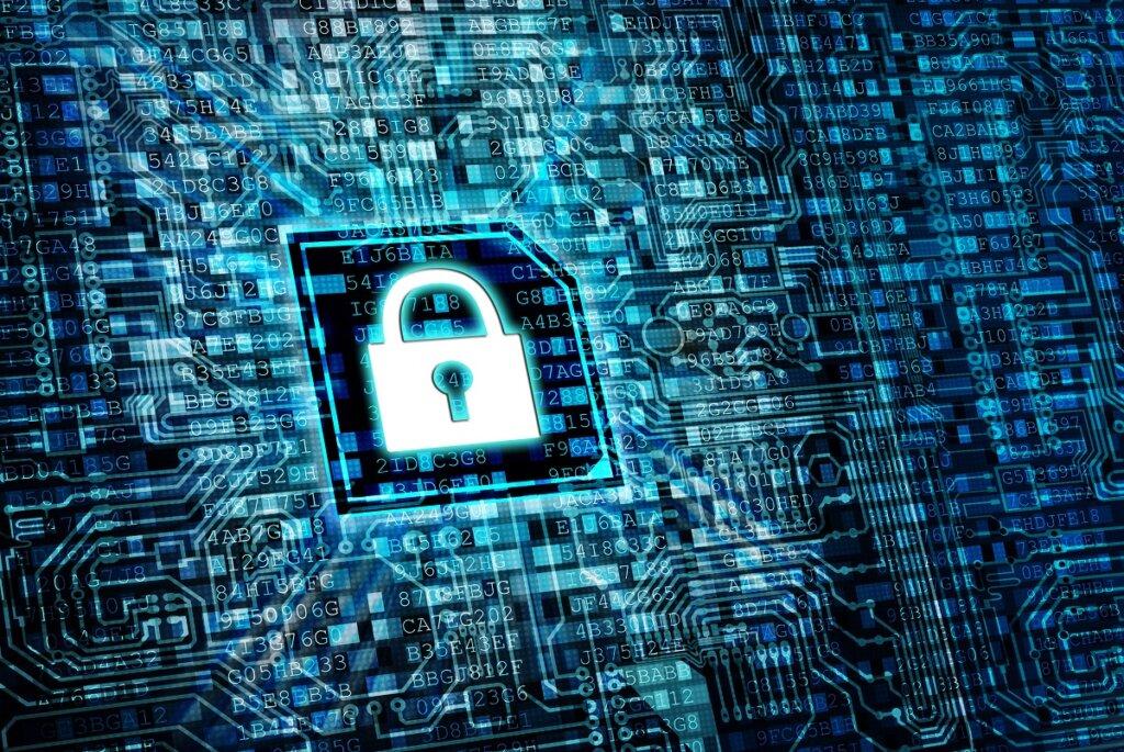 Secure internet  data processing concept