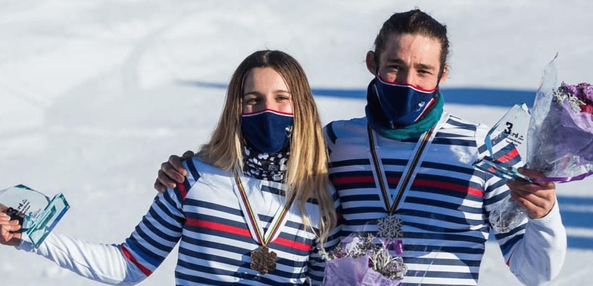 Un podium pour Léo Le Blé Jaques au Championnats du monde de snowboard cross