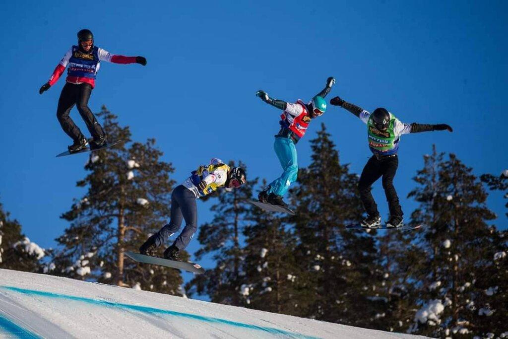 Championnats du monde de snowboard cross 2021 d'Idre Fjall, en Suède