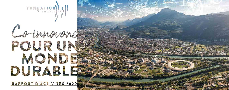 Le rapport d'activité 2020 de la Fondation Grenoble INP est en ligne