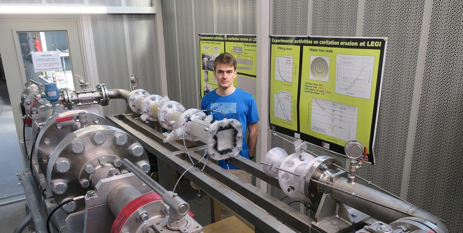 Julien Hofmann rejoint l'équipe de la Chaire Hydro'Like